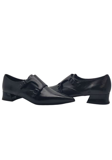 Women's Double Buckle Loafers Spatarella | Mocassins | CAMELIANERO