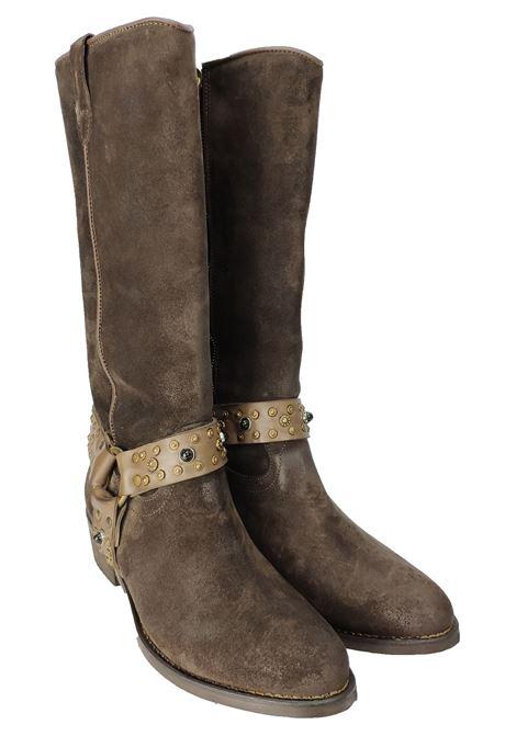 Stivali Texani Donna Camoscio Zoe | Stivali | N81MORO