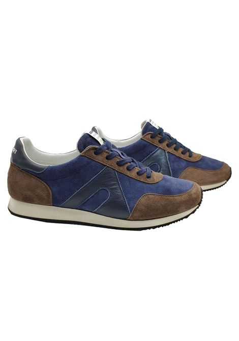 Men's Running Sneakers Atala | Sneakers | 10011MARRONE/BLU