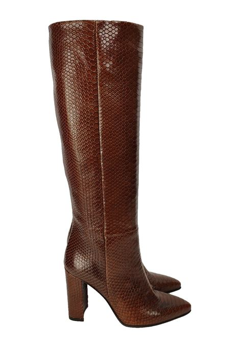 Women's High Toe Boots Bervicato | Boots | B3761CUOIO