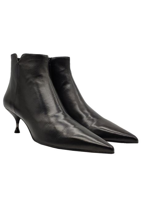 Women's Low Heel Ankle Boots Bruno Premi   Ankle Boots   BY4303GNERO
