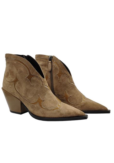 Texan Women's Ankle Boots Bruno Premi | Ankle Boots | BY6303XBEIGE