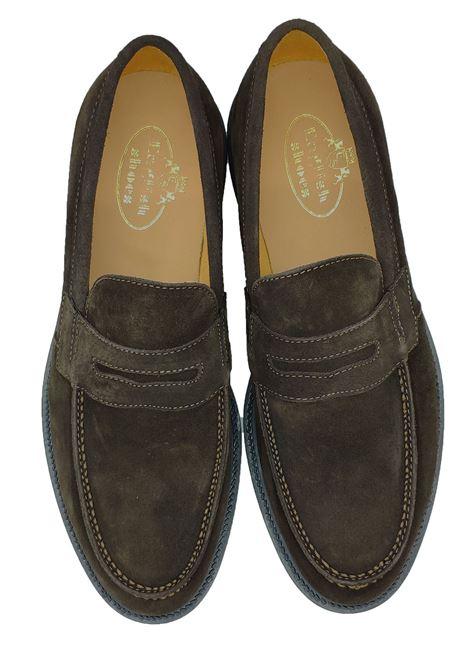 Mocassini Uomo con Bendina English Shoes | Mocassini | 2200/19CAM/MORO