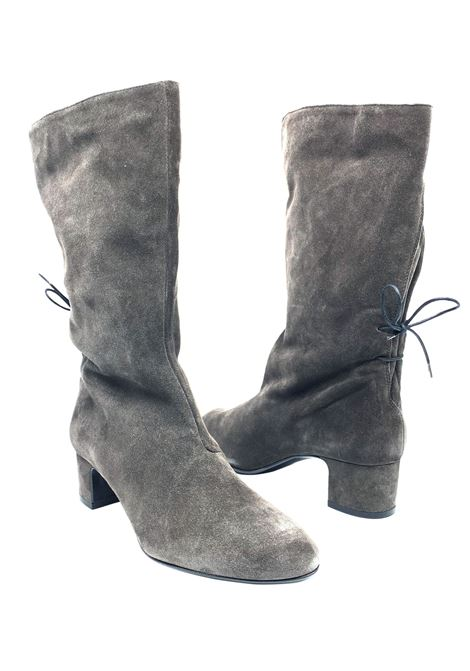 Women's Ankle Boots Tube Back Laces Fabio Rusconi | Ankle Boots | F-5035GRIGIO