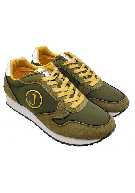 Sneakers Uomo Pelle e Tessuto Jeckerson | Sneakers | JFAL24BL6VERDE