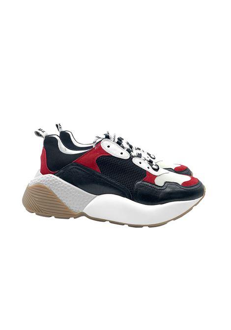 Sneakers Donna Pelle e Tessuto Lola Cruz | Sneakers | 314Z88PT-DMULTICOLOR NERO