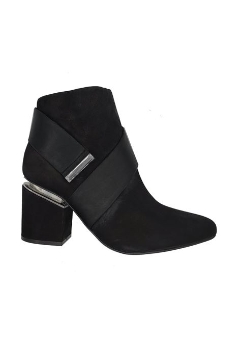 Women's Belt Ankle Boots Spatarella | Ankle Boots | 677004-1NERO