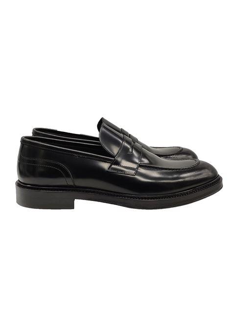 Men's Shiny Loafers Jerold Wilton | Mocassins | 1063NERO