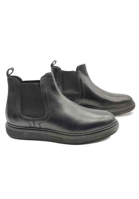 Men's Wedge Chelsea Boots Jerold Wilton | Ankle Boots | 1072NERO