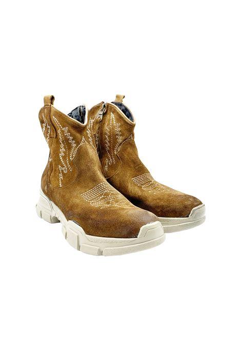 Stivaletti Texano Sneakers Donna Zoe   Stivaletti   DOUBLE RICCAMEL