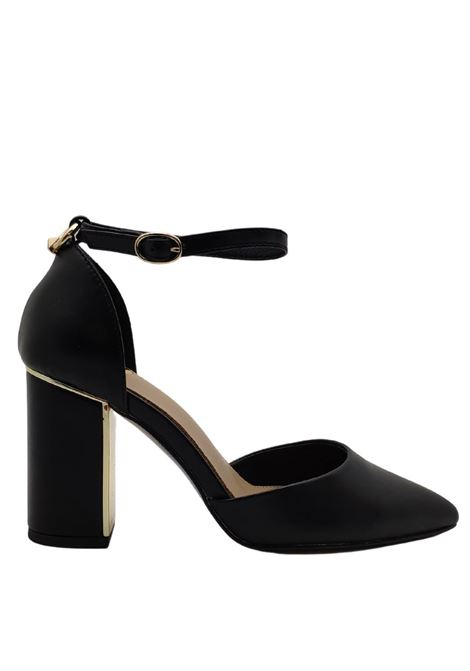 Décolleté Gold Heel Woman Exe | Pumps | 475NERO