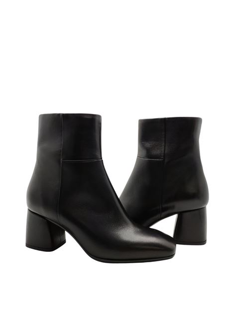 Women's Mid Heel Ankle Boots Fabio Rusconi   Ankle Boots   GEMMA456NERO