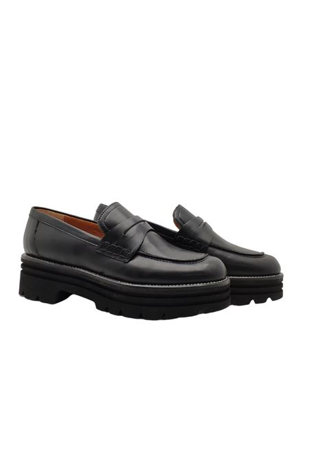 Women's Loafers Lorenzo Mari | Mocassins | LOR1700NERO