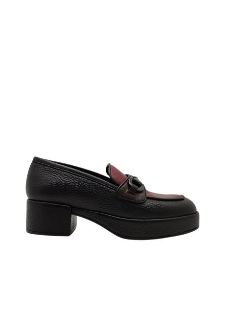 Women's Bicolor Loafers Pons Quintana | Mocassins | 8893NERO
