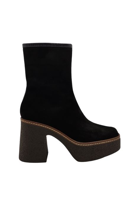 Wedge Ankle Boots Woman Pons Quintana | Ankle Boots | 8917NERO