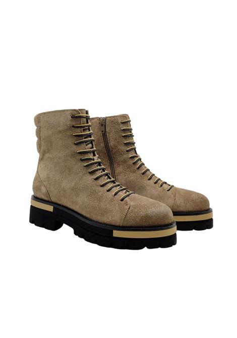 Women's Amphibious Ankle Boots Prime By Bruno Premi | Ankle Boots | AZ0301XBEIGE