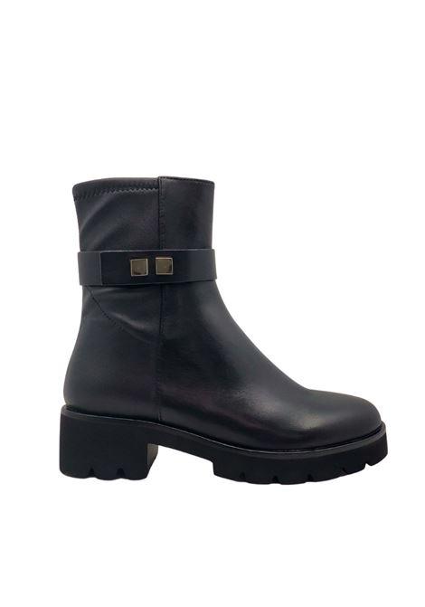 Women's Strap Ankle Boots Prime By Bruno Premi | Ankle Boots | AZ0601XNERO