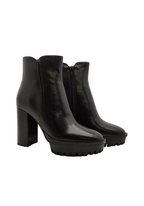 Women's High Ankle Boots Prime By Bruno Premi | Ankle Boots | AZ2101XNERO
