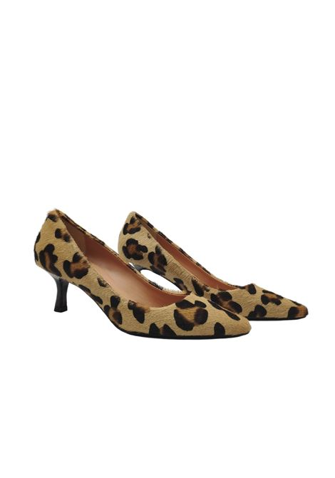 Animalier Cavallino Woman Décolleté Spatarella | Pumps | 114LEOPARDO
