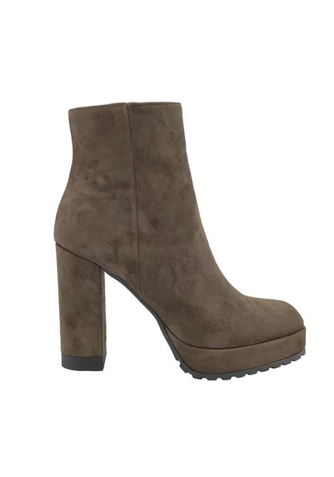 Women's High Ankle Boots Spatarella | Ankle Boots | 688MARRONE