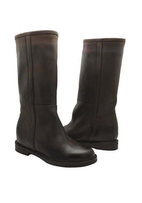 Wedge Boots Woman Spatarella | Boots | BZ120MORO