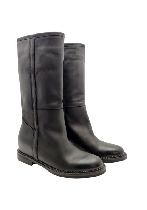 Wedge Boots Woman Spatarella | Boots | BZ120NERO
