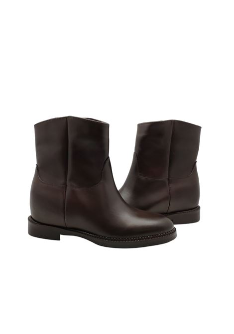 Wedge Ankle Boots Woman Spatarella | Ankle Boots | BZ122MORO