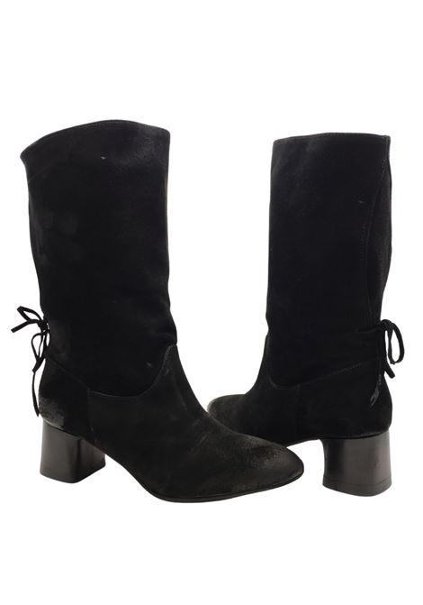 Bow Woman Ankle Boots Spatarella | Ankle Boots | EB81NERO