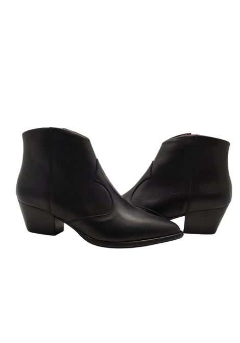 Texan Women's Ankle Boots Spatarella | Ankle Boots | F46NERO