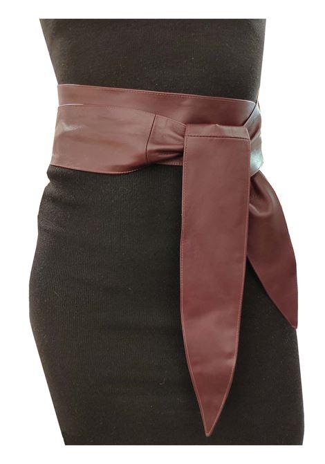 Woman Sash Belt Spatarella | Belts | G100BORDEAUX