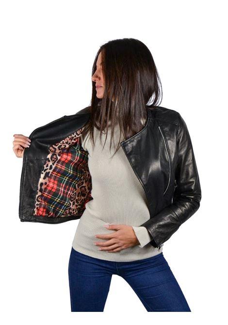 Short Jacket Woman Spatarella | Coats and jackets | P381NERO