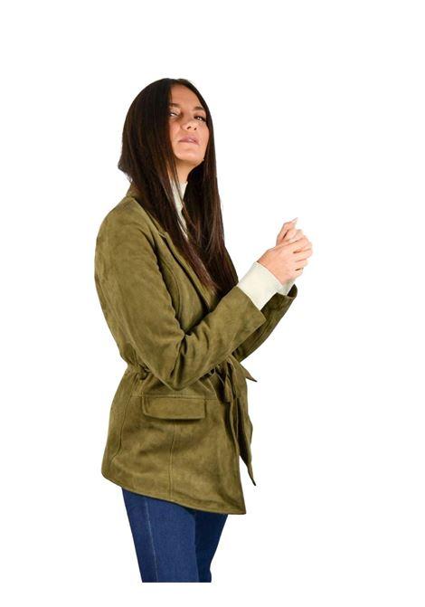 Single Breasted Woman Jacket Spatarella | Coats and jackets | P462TORTORA