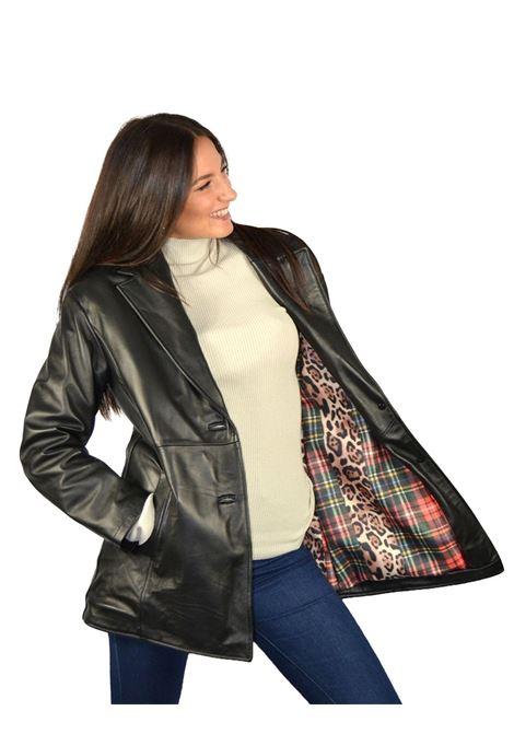 Long Jacket Woman Spatarella | Coats and jackets | P522NERA