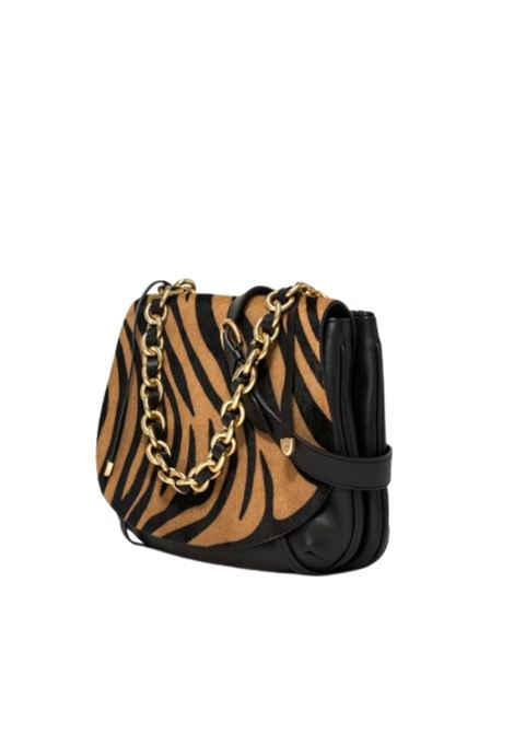 Shoulder Bag Woman Gianni Chiarini | Bags and backpacks | BS7996VNZ-CAVZEBRA CAPPUCCINO