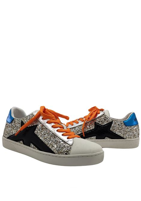 Sneakers Donna Stringata Lola Cruz | Sneakers | 436Z05BKARGENTO
