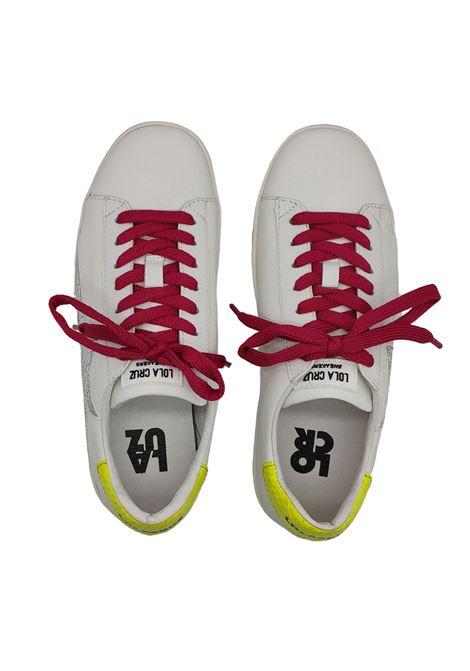 Sneakers Donna Stringata Lola Cruz | Sneakers | 438Z10BKBIANCO