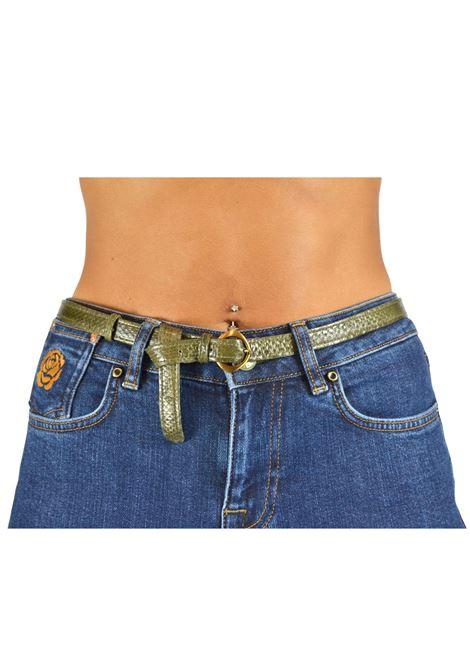 Cintura Donna Verde Maliparmi   Cinture   CA00320138560126