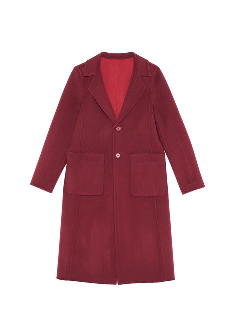 Women's Burgundy Coat Maliparmi | Coats and jackets | JB53072018230A33