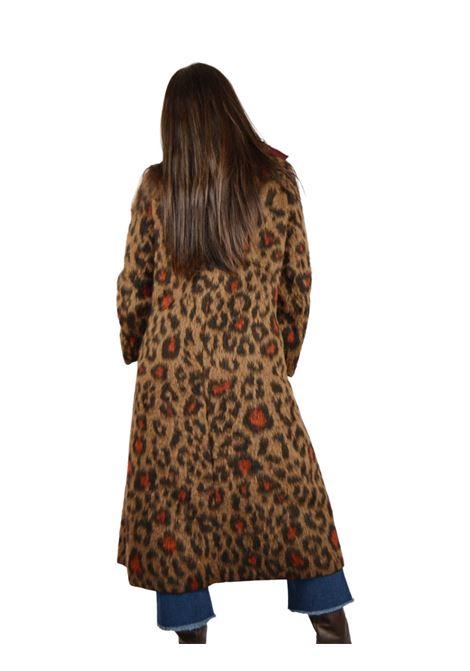 Animalier Woman Coat Maliparmi | Coats and jackets | JB532320190A4129