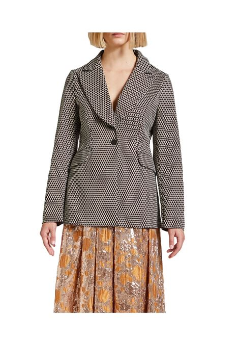 Brown Woman Jacket Maliparmi | Coats and jackets | JD638060033B1219