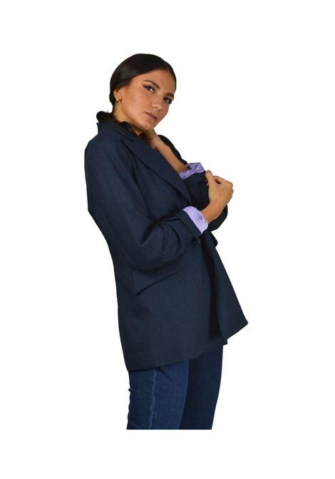 Giacca Donna Blu Maliparmi | Cappotti e Giacche | JD63882018780025