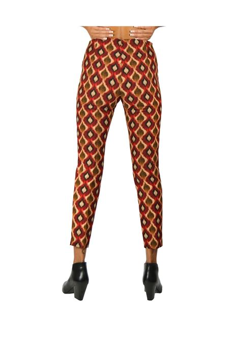 Pantalone Donna Rosso Maliparmi | Gonne e Pantaloni | JH303760039A3074