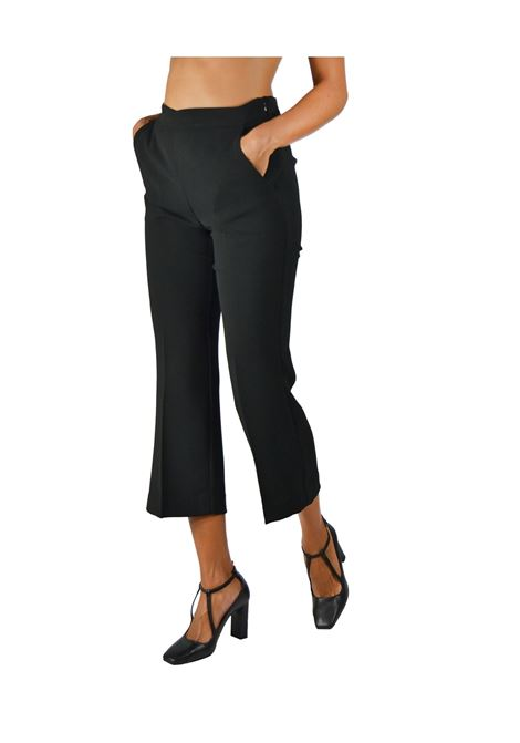 Black Woman Trousers Maliparmi | Skirts and Pants | JH71445016620000