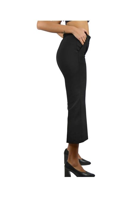 Pantalone Donna Nero Maliparmi | Gonne e Pantaloni | JH71446001420000