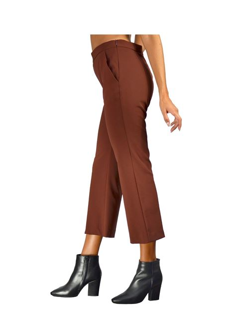 Brown Woman Trousers Maliparmi | Skirts and Pants | JH71446001440020