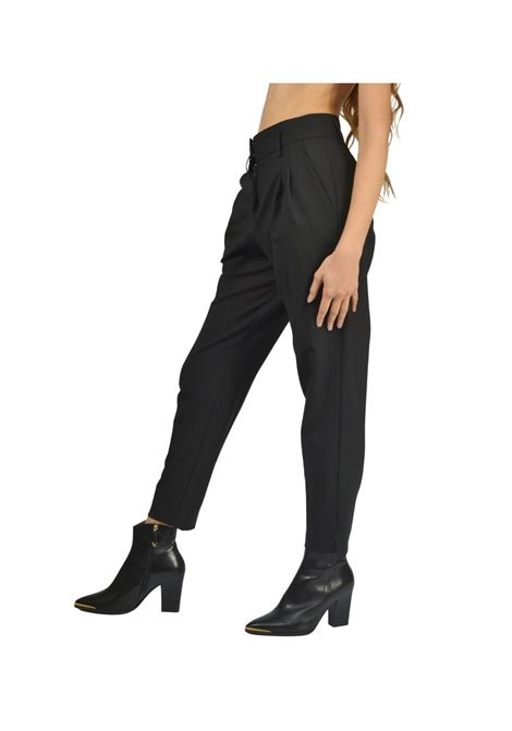 Pantalone Donna Nero Maliparmi | Gonne e Pantaloni | JH74232018820000