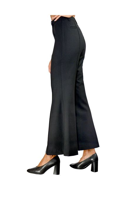 Black Woman Trousers Maliparmi | Skirts and Pants | JH74452018820000