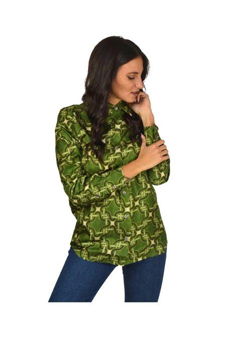 Camicia Donna Verde Maliparmi | Camicie e Top | JM214430107B6092