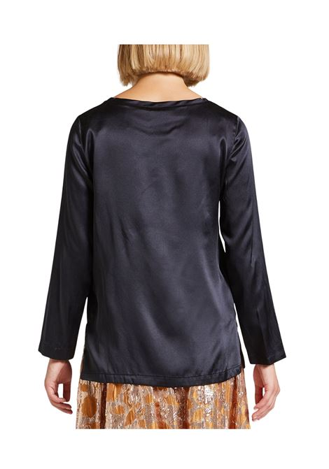 Women's Black T-shirt Maliparmi | Shirts and tops | JM40603102120000