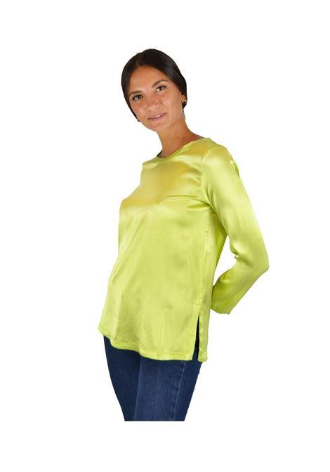 SILK SATIN SHIRT Maliparmi | Shirts and tops | JM40603102160129